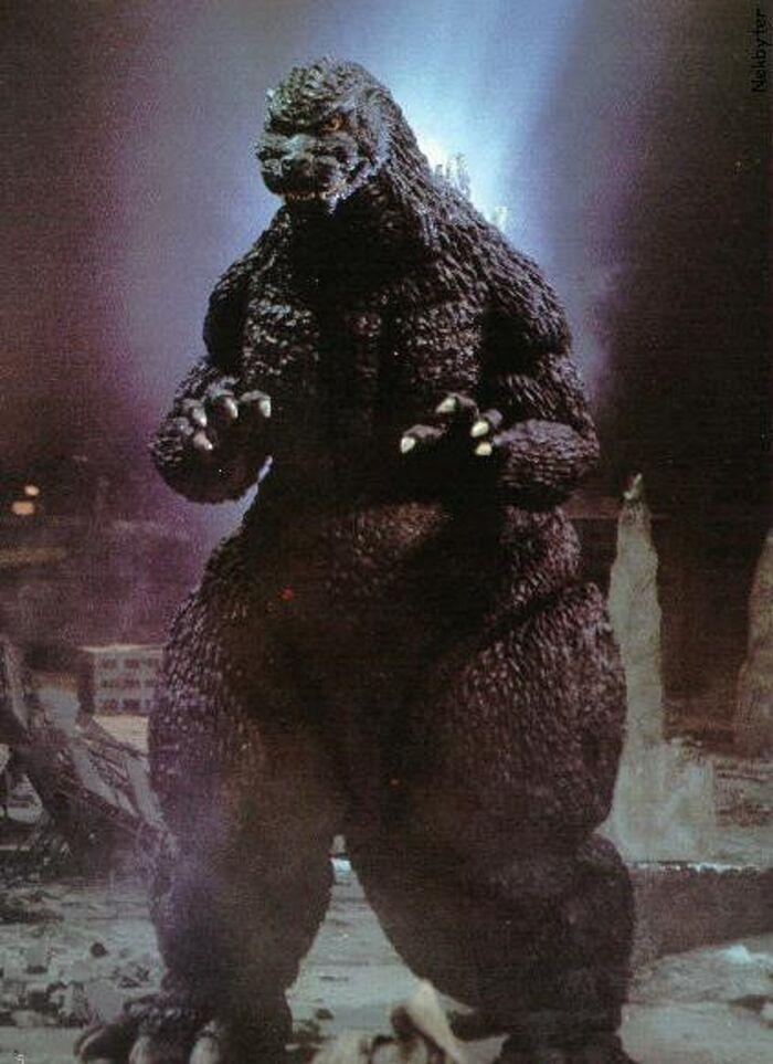 Godzilla in Godzilla vs. Spacegodzilla