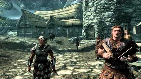 The elder scrolls V SKYRIM - Opening scene First quest