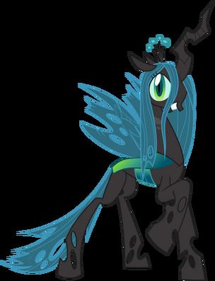 Queen chrysalis by bluepedro-d4ztwaz