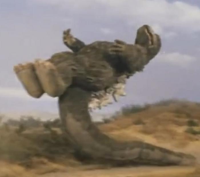 Godzilla in Godzilla vs. Megalon