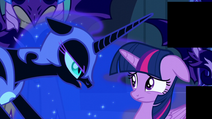 Nightmare Moon --But it is no less a fate...-- S5E26