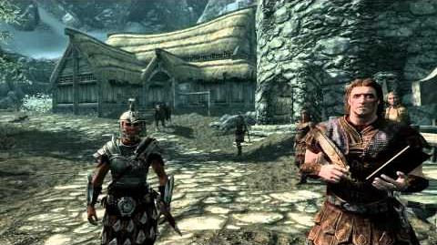 The elder scrolls V SKYRIM - Opening scene First quest-0