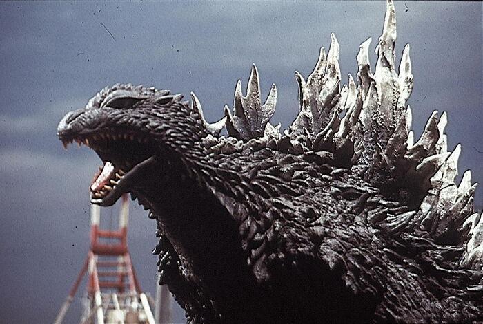 Godzilla in Godzilla Against Mechagodzilla