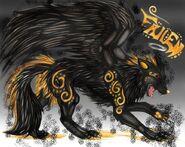 Dark Wolf (Fury Wolf And Angel Wolfy)