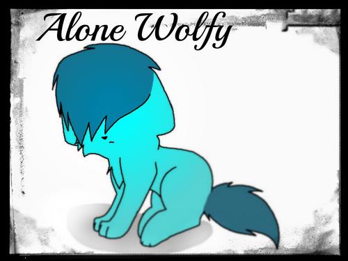 Alone wolfy