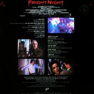 Fright Night Brazilian LP Back