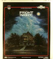 Fright Night CED 01 - Front