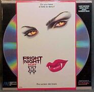 Fright Night Part 2 IVE Image Laserdisc cr