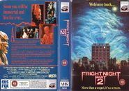 Fright Night Part 2 UK VHS