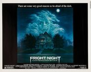 Fright Night 1985 Half Sheet Poster