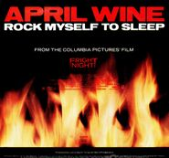 April Wine Rock Myself To Sleep Single 02 Back Cover