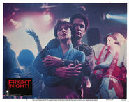 Fright Night Lobby Card 05 Amanda Bearse Chris Sarandon