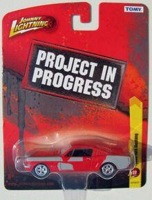 Johnny Lightning Work in Progress Fright Night Mustang