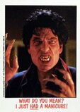 Topps Fright Flicks 36 Fright Night 1985 Chris Sarandon