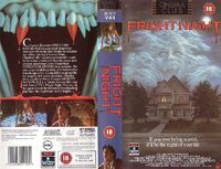 Fright Night UK VHS-front