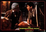 Fright Night 1985 German Lobby Card 09 Roddy McDowall William Ragsdale Amanda Bearse