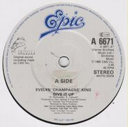 Evelyn Champagne King and Sparks 7 inch UK single 03