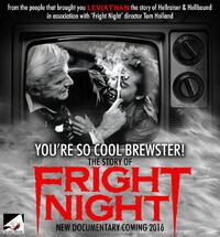You're So Cool Brewster The Story of Fright Night - Stephen Geoffreys - Roddy McDowall