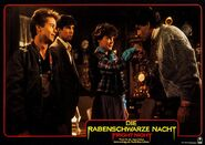 Fright Night 1985 German Lobby Card 16 Stephen Geoffreys William Ragsdale Amanda Bearse Chris Sarandon