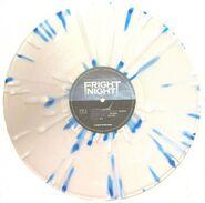 Fright Night Soundtrack - Blue White Splatter limited edition