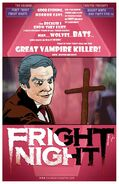 Fright Night Poster by J.D. Korejko 2013