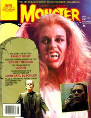 Monsterland 4 Fright Night Amanda Bearse Cover