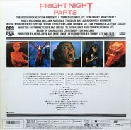 Fright Night Part 2 Japanese Laserdisc Back cr