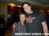 Mike the Fanboy and Amanda Bearse
