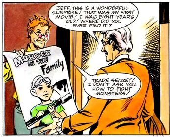 Fright Night Spider-Boy Comic Excerpt - Peter Vincent Murder in the Family