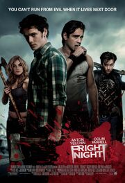Fright Night 2011 Poster You Can't Run From Evil