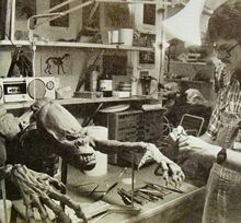 Ghostbusters Librarian Puppet - used for Jerry Dandrige in Fright Night