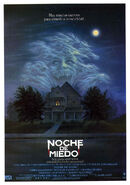 Fright Night 1985 Spanish Poster