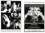 Fright Night 1985 German Program