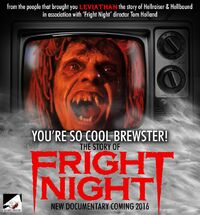 You're So Cool Brewster The Story of Fright Night - Stephen Geoffreys