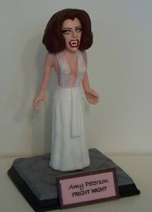 Clayguy Figurine - Fright Night Amy Peterson Vampire Amanda Bearse