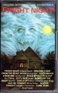 Fright Night UK Cassette Soundtrack