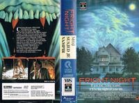 VHS Fright Night Croation