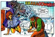 Fright Night Comics 21 WereWolf There-Wolf 21 Aunt Claudia Hinnault Peter Vincent - Kevin West