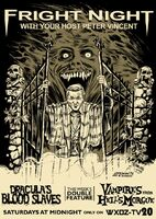 Fright Night TV Guide ad by Jeff Zornow
