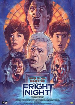 The Story of Fright Night poster by Graham Humphreys