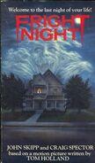 Fright Night Novelization Skipp Spector - International Edition