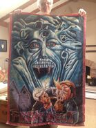 Tom Holland and Fright Night Hand-Painted Ghana Theatrical Poster