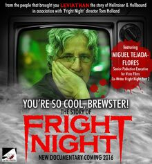 You're So Cool Brewster The Story of Fright Night - Miguel Tejada-Flores