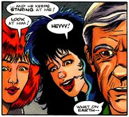 Fright Night Comics 21 WereWolf There-Wolf 21 Claudia Natalia Hinnault Peter Vincent - Kevin West