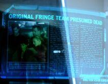 Original Fringe team presumed dead