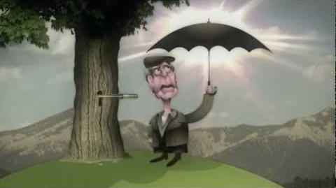 Der schwarze Regenschirm