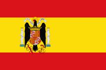 Francoist spain flag