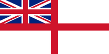 UK naval flag