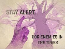 Stay alert