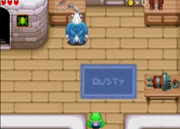 Frogger and Dusty